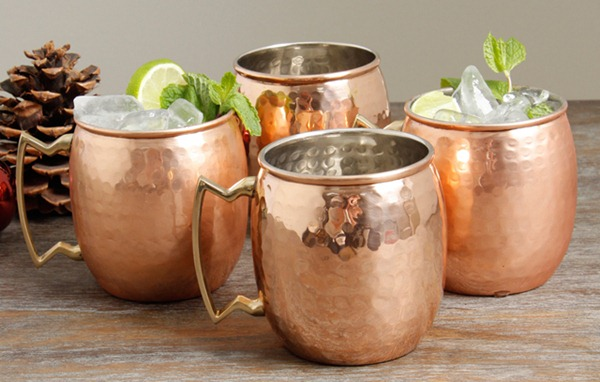 Moscow Mule Mugs Hammered Copper Wholesale