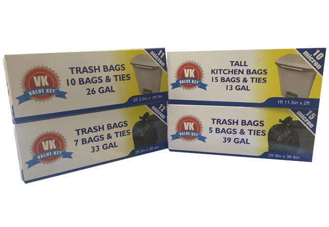 Value Key Products Chicago Trash Bags Wholesale