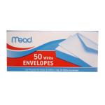 50 White Envelopes