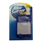 Alka Seltzer Plus Blister Pack Wholesale