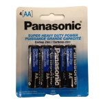 Panasonic AA 4 PK Batteries Wholesale