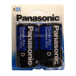 Panasonic D 2 PK Batteries Wholesale