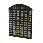 Hip Hop Earrings Set Display Wholesale