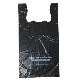 1 6 heavy duty t shirt shopping bags wholesale for Wholesale t shirt bags