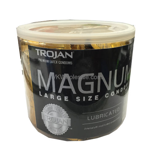 Trojan Magnum Condoms Jar Trojan Condoms Wholesale