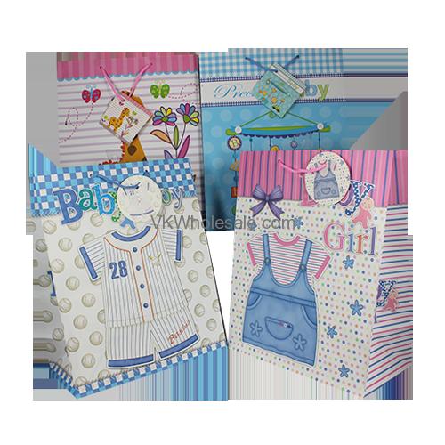 Baby Gift Bags Jumbo 12 Pc