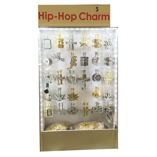 Hip Hop Necklace Set With Led Display Wholesale
