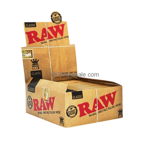 Raw Classic King Size Slim Rolling Paper Wholesale Raw