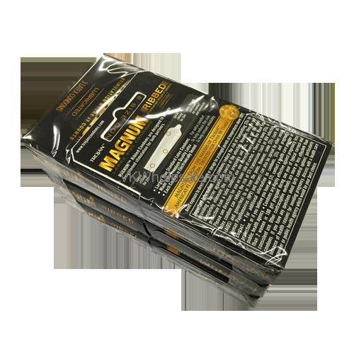 Trojan Magnum Ribbed Lubricated Condoms 6 Pk Wholesale