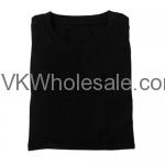 Wholesale Black Short Sleeves T-Shirts 12 pk