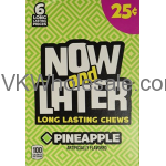 Now & Later Candy Pineapple 24/6 PCS Bars Wholesale