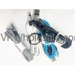 Micro USB Cable with Tie by Warner Wireless 25PC