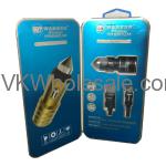 Premium Type C Dual USB Car Charger Warner Wireless Wholesale