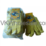 Wholesale Duro Gloves Yellow Chore 6 Pack