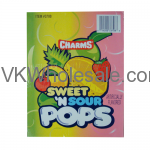 Wholesale Charms Sweet'N Sour Pop Suckers