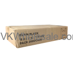 Plain Black 8 x 4 x 16 T-Stack Bags Wholesale