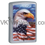 Zippo Claudio Mazzi Eagle Flag Lighters Wholesale