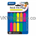 Neon Color Arrow Stick On Flags Wholesale