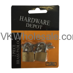 2 PC Padlock Wholesale
