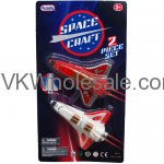 "2PC 3.5"" MINI SPACE SHUTTLES IN BLISTERED CARD Wholesale"