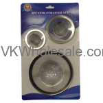 3 PC Sink Strainer Set Wholesale