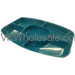 Plastic Tray 5 Sectional Wholesale