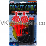 "5.5"" SOFT DAR GUN W/TARGETS IN BLISTER CARD Wholesale"