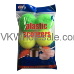Value Key Plastic Mesh Scourer Wholesale