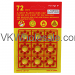 8-SHOT 9-PLASTIC DISK RING CAPS IN BLISTER CARD Wholesale