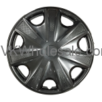 "15"" Hub Cap Wheel Cover KT 1033 15SP Black Wholesale"