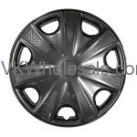 "15"" Hub Cap Wheel Cover KT 1033 15SP Black Wholesale"