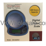 DigiWeigh Chrome Digital Pocket Scale Wholesale