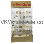 Hip Hop Necklace Set Display Wholesale