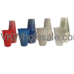 Assorted Plastic Party Cups Wholesale