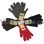 Wholesale Winter Color Gloves Dozen