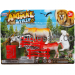 "3""-4"" Plastic Farm/Jungle Animals Strip Toy Wholesale"