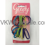 Goody Ouchless No Metal Elastics Small Ponytail Holder Assorted Colors Wholesale