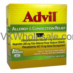 Wholesale Advil Congestion Relief 200 mg - 25 pk of 1 Coated Tablet