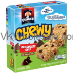 Quaker® Chewy Chocolate Chip Granola Bars 8-0.84 oz. Bars Wholesale