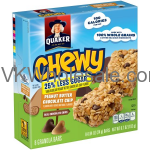Quaker® Chewy Peanut Butter Chocolate Chip Granola Bars 8-0.84 oz. Bars Wholesale
