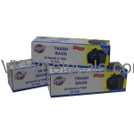 Value Key 33 Gallon Twist Tie Trash Bags, 20 Count Wholesale