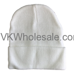 White Winter Hat Wholesale