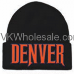 Denver Embroidered Winter Skull Hats Wholesale