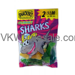 Snackerz Sharks Gummy 2 for $1 Candy Wholesale