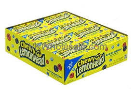 Lemonhead Chewy Blue Rashpberry Candy Wholesale