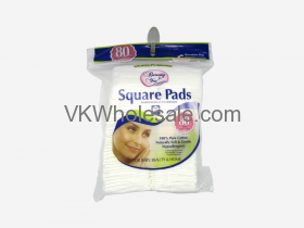 Cotton Square Pads 80CT Wholesale