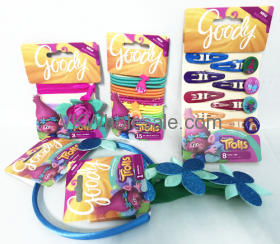 Goody Trolls Hair Accessories Combo Wholesale