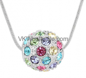 Austrian Crystal Pendant Necklace