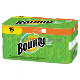 ''Bounty Paper TOWELs, White, 15-Count Package''