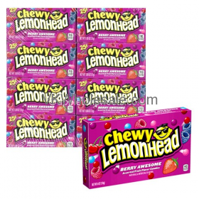 Lemonhead Chewy Berry Awesome Candy Wholesale
